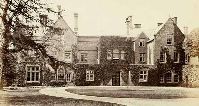 Annesley Hall, c.1874.