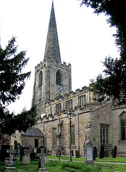 St Mary's Church, Attenborough (photo: A Nicholson, 2002).
