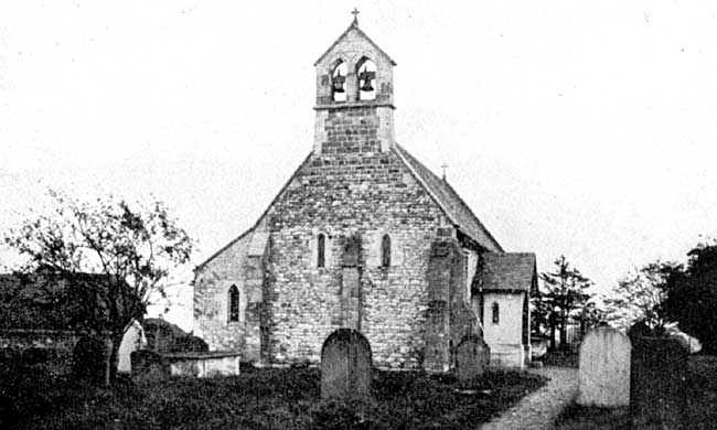 Austerfield church, c1915