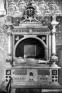 Monument to Sir William Sutton (d.1611) and his wife, Susannah.