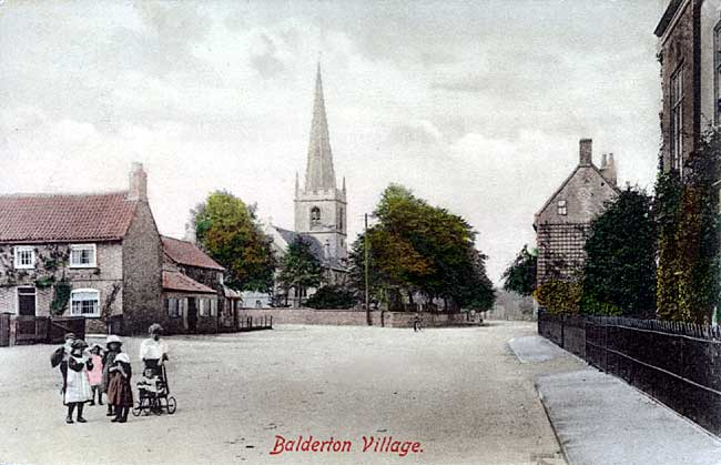 Balderton village view, c.1913.