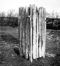 PLATE IV. Oak-lining of Claudian well.