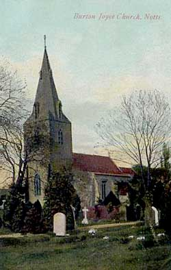 Burton Joyce church, c.1905.
