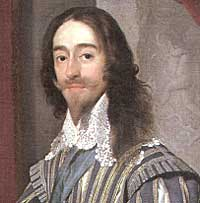 Portrait of Charles I by Daniel Mytens (1631).