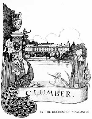 Clumber by the Duchess of Newcastle