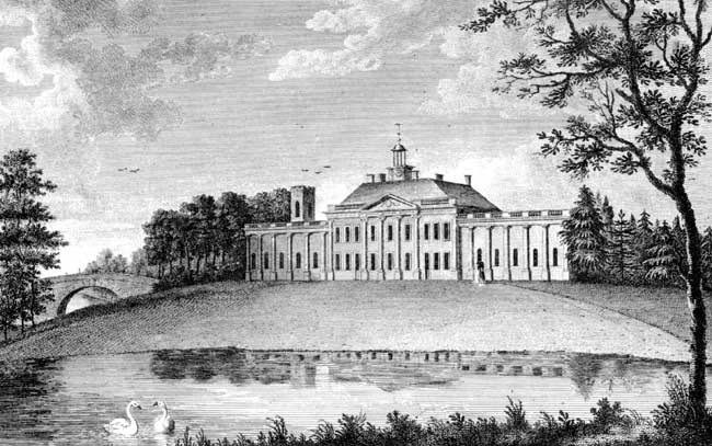 Colwick Hall, The Seat of John Musters Esq., 1791.