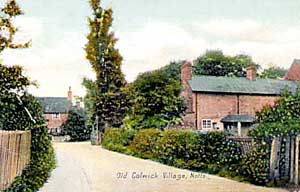 Old Colwick village, c.1910