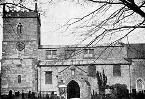 East Bridgford church–before restoration.