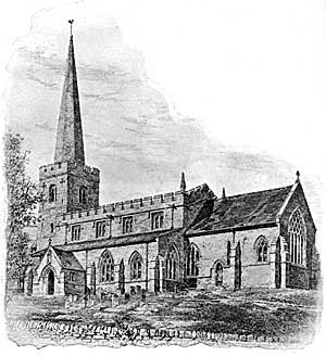 St Mary the Virgin, East Leake in 1903.