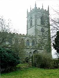 The tower of East Markham church.