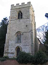 St Nicholas's church, Hockerton (photo: Andrew Nicholson, 2005).