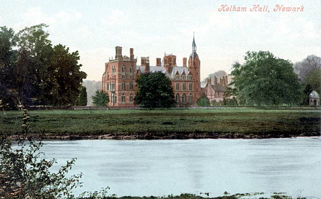 Kelham Hall from the east, c.1910