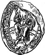 The seal of Lenton Priory