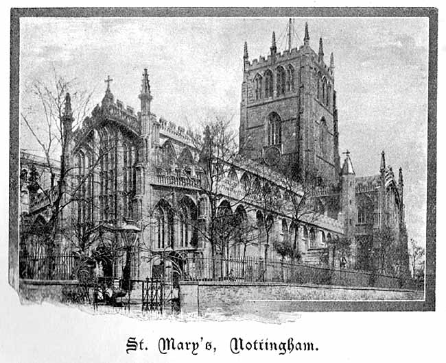 St Mary's church, Nottingham