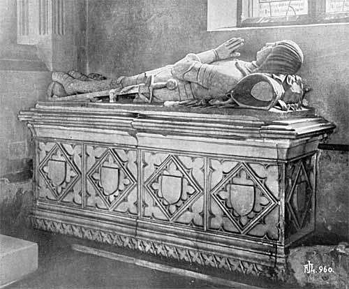 Tomb of Sir Henry Pierrepont (1441).