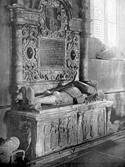 Tomb of Sir Henry Pierrepont (1615) at Holme Pierrepont.