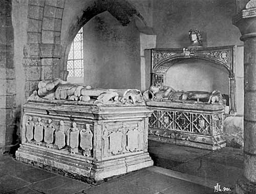 Tombs of Radulphus and Henry Sacheverell.