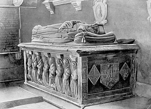 Tomb of Lady Anne Stanhope at Shelford.