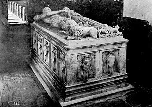 Tomb of Sir Sampson de Strelley