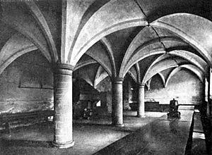 The Crypt, Rufford Abbey.