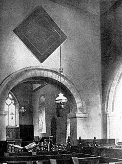 Interior of Oxton Church.