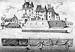 Chateau de Chaources in 1690.