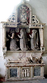 Tomb of Henry Sacheverell, died 1625 (photo by A Nicholson, 2006).