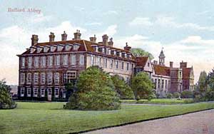 Rufford Abbey from the north-west, c. 1905.