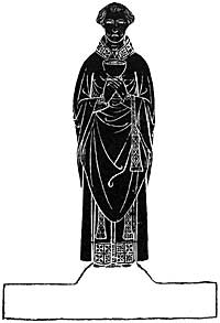 "MONUMENTAL BRASS, STANFORD-ON-SOAR. From "" Monumental Brasses of Nottinghamshire. —Briscoe and Field."