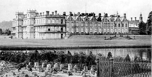 Welbeck Abbey, c.1890.