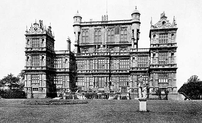 Wollaton Hall.