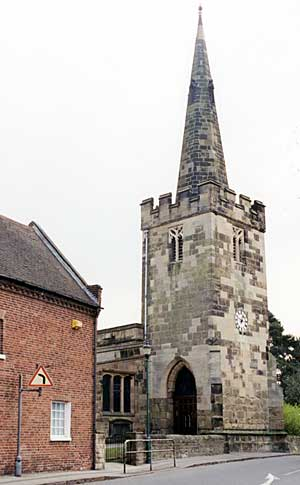 St Leonard's church, Wollaton (photo: A Nicholson, 2002).