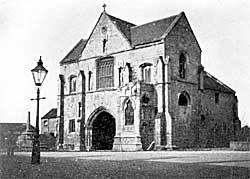 Worksop Priory gatehouse.
